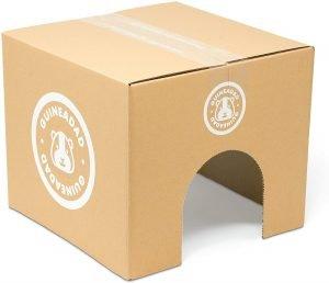 GuineaDad cardboard house for guinea pigs